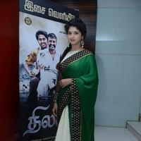 Mrudula Baskar at Thilagar Movie Audio Launch Stills