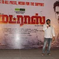 K. E. Gnanavel Raja - Madras Movie Success Meet Stills