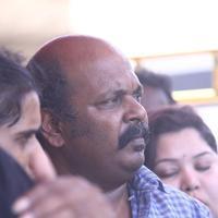 Singam Puli  - Tamil Film Industry Hunger Strike Against Jayalalitha Judgment Photos