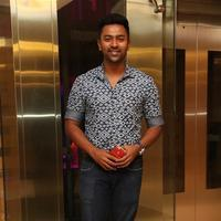 Shanthanu Bhagyaraj - Chennai Rockers Team Launch Stills