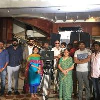 Sibiraj Nathambal Film Factory Production No 3 Pooja Photos
