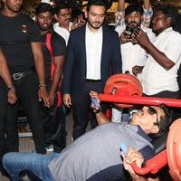 Sarathkumar Launched Flux Fitness & Spa Salon Photos