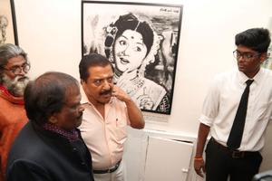 Paintings of Siva Kumar Inaugration Event 2016 Images