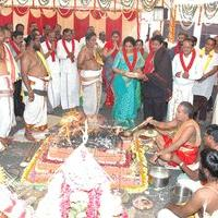 Yagam for Chief Minister MS.Jayalalithaa At South Indian Film Chamber of Commerce