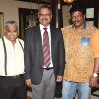 Parthiban and Chef Damu launch Chef Deena Dayalans new menu at Southern Aromas