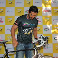 John Abraham - John Abraham is Tour De India 2013's brand ambassador photos