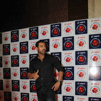 John Abraham - Hrithik Roshan, Ranbir Kapoor, John at the auction of Indian Super league 2015 Pics