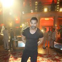 John Abraham - Film Welcome Back Song Shoot Pics