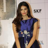 Athiya Shetty - Film Hero Trailer Launch Photos