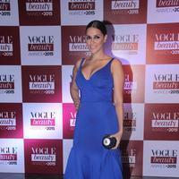 Neha Dhupia - Vogue India Beauty Awards 2015 Photos