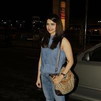 Actress Prachi Desai spotted at Mumbai International Airport Photos | Picture 1079759