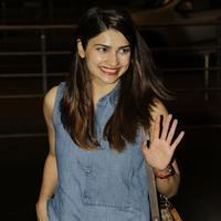 Actress Prachi Desai spotted at Mumbai International Airport Photos