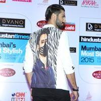 Shahid Kapoor - Bollywood Celebs at Mumbai's Most Stylish 2015 Photos