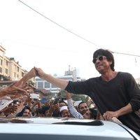 Shahrukh Khan - Mark The Beautification Of Band Stand Bandra By Shah Rukh Khan Photos