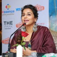 Vidya Balan - Kahaani 2 Movie Promotion at Taksh Restaurant Photos | Picture 1437714