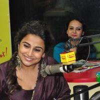 Vidya Balan - Kahaani 2 Movie Promotion at Radio Mirchi Photos   Picture 1438052