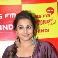 Vidya Balan - Kahaani 2 Movie Promotion at Radio Mirchi Photos   Picture 1438050