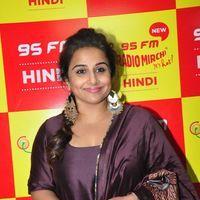 Vidya Balan - Kahaani 2 Movie Promotion at Radio Mirchi Photos   Picture 1438047