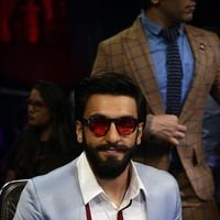 Ranveer Singh - Promotion of film Befikre on the sets of Super Dancer Photos