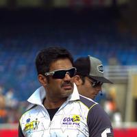 Sunil Shetty - CCL 4 Mumbai Heroes Vs Chennai Rhinos Match Photos