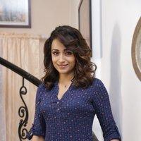 Trisha Krishnan - Sathuranga Vettai 2 Shooting Spot Stills