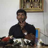 Actor Vishal Press Meet Stills | Picture 1434719