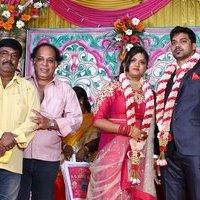 Actor Vasu Vikram Daughter Vasugi Wedding Reception Photos