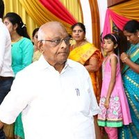 S. P. Muthuraman - Actor Vasu Vikram Daughter Vasugi Wedding Reception Photos