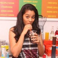 Gayathri - The Thick Shake Factory Launched in Chennai Photos