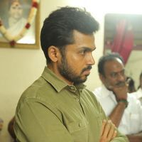 Karthi - Kollywood Pays Its Last Respects To Director K Subhash Photos   Picture 1438161
