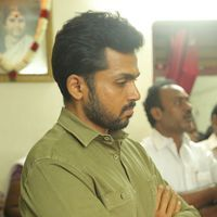 Karthi - Kollywood Pays Its Last Respects To Director K Subhash Photos   Picture 1438160