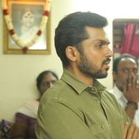 Karthi - Kollywood Pays Its Last Respects To Director K Subhash Photos   Picture 1438162