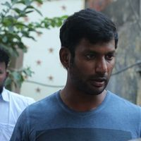 Vishal Krishna - Kollywood Pays Its Last Respects To Director K Subhash Photos | Picture 1438186