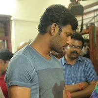 Vishal Krishna - Kollywood Pays Its Last Respects To Director K Subhash Photos | Picture 1438156