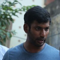 Vishal Krishna - Kollywood Pays Its Last Respects To Director K Subhash Photos | Picture 1438185