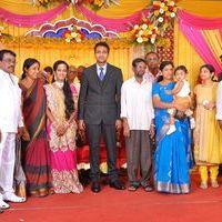Producer TR Selvam Daughter Kiruthika Wedding Photos