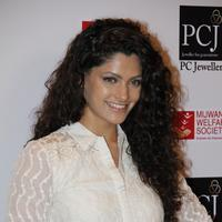 Rey film Actress Saiyami Kher at Mijwan fashion show in Mumbai Photos