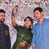 Mahesh Babu - Talasani Sreenivas Yadav Yaughter Swathi and Ravi kumar Wedding Reception Photos   Picture 1434275