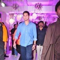 Mahesh Babu - Talasani Sreenivas Yadav Yaughter Swathi and Ravi kumar Wedding Reception Photos   Picture 1434256