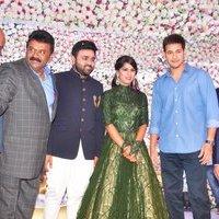 Mahesh Babu - Talasani Sreenivas Yadav Yaughter Swathi and Ravi kumar Wedding Reception Photos   Picture 1434273