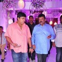 Talasani Sreenivas Yadav Yaughter Swathi and Ravi kumar Wedding Reception Photos