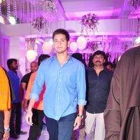 Mahesh Babu - Talasani Sreenivas Yadav Yaughter Swathi and Ravi kumar Wedding Reception Photos   Picture 1434257