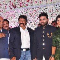 Nandamuri Balakrishna - Talasani Sreenivas Yadav Yaughter Swathi and Ravi kumar Wedding Reception Photos | Picture 1434084