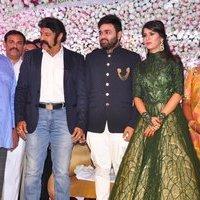 Nandamuri Balakrishna - Talasani Sreenivas Yadav Yaughter Swathi and Ravi kumar Wedding Reception Photos | Picture 1434094