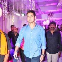Mahesh Babu - Talasani Sreenivas Yadav Yaughter Swathi and Ravi kumar Wedding Reception Photos   Picture 1434261