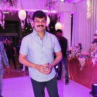 Boyapati Srinu - Talasani Sreenivas Yadav Yaughter Swathi and Ravi kumar Wedding Reception Photos