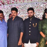 Pawan Kalyan - Talasani Sreenivas Yadav Yaughter Swathi and Ravi kumar Wedding Reception Photos   Picture 1434076
