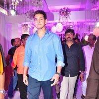 Mahesh Babu - Talasani Sreenivas Yadav Yaughter Swathi and Ravi kumar Wedding Reception Photos   Picture 1434258