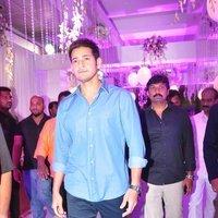 Mahesh Babu - Talasani Sreenivas Yadav Yaughter Swathi and Ravi kumar Wedding Reception Photos   Picture 1434260
