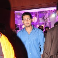 Mahesh Babu - Talasani Sreenivas Yadav Yaughter Swathi and Ravi kumar Wedding Reception Photos   Picture 1434263